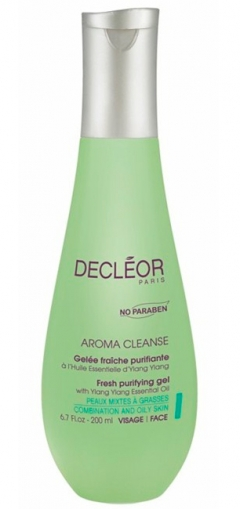 Очищающий гель для жирной и комбинированной кожи Деклеор Aroma Cleanse Gel Demaquillant Decleor