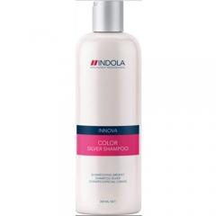 Шампунь для окрашенных волос с серебристым эффектом Индола Innova Color Silver Shampoo Indola