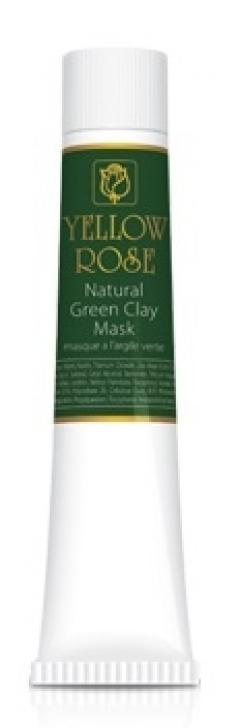 Натуральная маска из зелёной глины Йелоу Роуз Natural green clay mask Yellow Rose