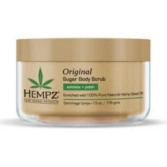 Сахарный скраб для тела Original Хемпз Original herbal sugar body scrub Hempz