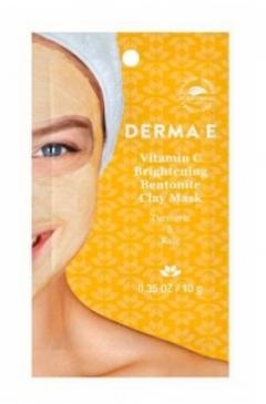 Осветляющая маска на основе глины с  витамином С Дерма Е Vitamin C Brightening Clay Mask 18 pc Shelf Display Unit Derma E