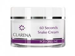 60-секундный крем с ядом кобры Кларена 60 seconds snake cream Clarena