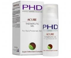 Противовоспалительный гель для жирной и проблемной кожи PHD (Фарма Дерма Косметикс) Acure Therapeutic Gel PHD (Pharma Dermacosmetics)