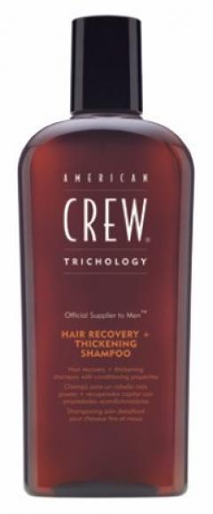 Шампунь восстановление + уплотнение волос Американ Крю Hair Recovery+Thickening Shampoo American Crew