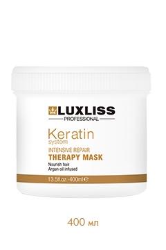 Восстанавливающая маска с кератином Люкслисс Keratin Intensive Repair Therapy Mask Luxliss