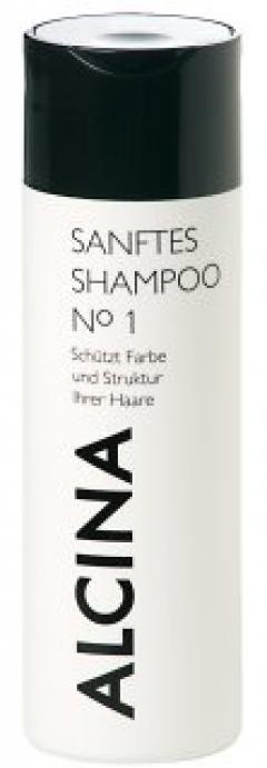 Шампунь мягкий №1 для окрашенных волос Альцина Hare Care Sanftes Shampoo №1 Alcina
