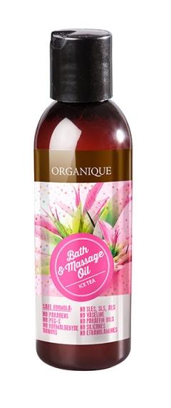 Масло для ванны и массажа Чай со льдом Органик Bath & Massage Oil Ice Tea Organique