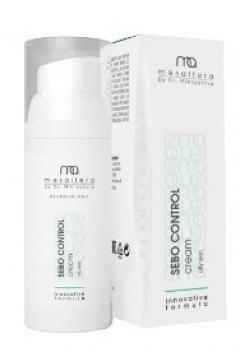 Матирующий крем для жирной и проблемной кожи Мезалтера от Доктора Михайловой SEBO CONTROL Mesaltera by Dr. Mikhaylova