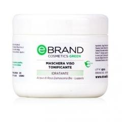 Тонизирующая маска с увлажняющим, антиоксидантным действием Ебренд Maschera Viso Tonificante Ebrand