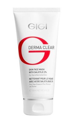 Мусс очищающий с 2% салициловой кислотой Джи Джи Derma Clear Face Wash with Salicylic 2% Gigi