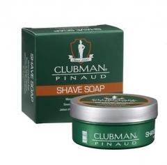 Натуральное мыло для бритья Клабмен Pinaud Shave Soap Clubman