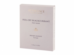 Альгинатная маска Чёрная смородина Аттиранс Peel Off Black Currant Face Mask Attirance