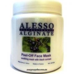 Успокаивающая альгинатная маска с черной смородиной Алессо Peel-Off Face Mask Alesso