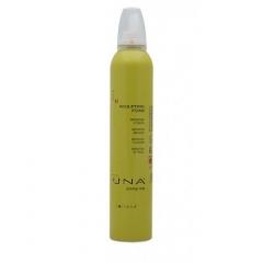 Пенка для моделирования нормальных и жестких волос сильной фиксации Роланд UNA Sculpting Foam Rolland