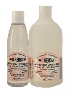 Витаминное масло с токоферолом для удаления остатков жирорастворимого воска после эпиляции М.Маджи LIPO-REMOVER OIL for Oilsoluble Wax M.Magi