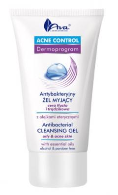 Антибактериальный очищающий гель АВА Лабораториум Acne control -  Antibacterial cleansing gel AVA Laboratorium