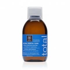 Натуральное средство для полоскания рта с мятой и прополисом Апивита Healthcare Natural Dental Care Natural Mouthwash With Propolis & Spearmint Apivita