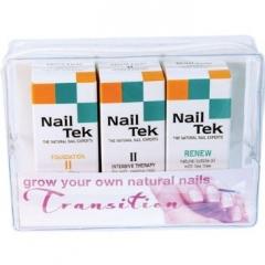Специальная программа перехода от искусственных ногтей к натуральным Нейл Тек TRANSITION KIT Nail Tek
