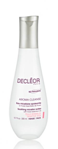 Вода мицеллярная очищающая для лица и век Деклеор Eau micellaire apaisante Decleor