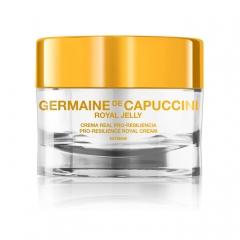 Крем для сухой и очень сухой кожи восстанавливающий упругость Жермен де Капуччини Pro-Resilience Royal Cream EXTREME Germaine de Capuccini