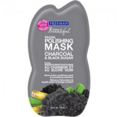 Маска для лица Уголь Черный сахар Фриман Feeling Beautiful Facial Polishing Mask Charcoal Black Sugar Freeman