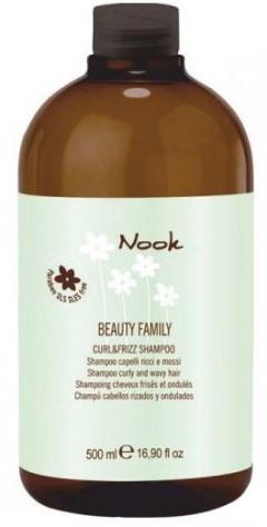 Шампунь для кудрявых, завитых и вьющихся волос Максима Nook Curl & Frizz Shampoo Maxima