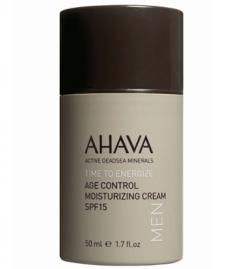 Крем омолаживающий увлажняющий SPF15 Ахава Age Control Moisturizing Cream SPF15 Men AHAVA