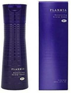 Лечебный шампунь от перхоти и зуда Мильбон Plarmia Balansing scalp soap Milbon