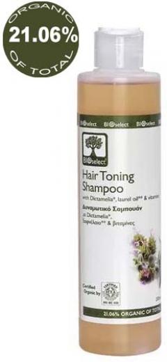 Тонизирующий шампунь БиоСелект Hair toning shampoo BIOSelect