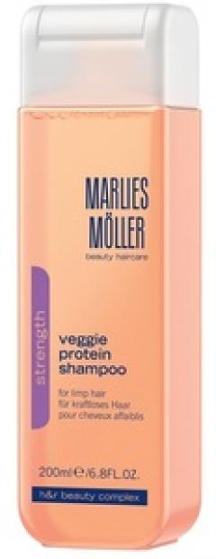 Шампунь для ослабленных волос на основе растительного протеина Марлис Мёллер Veggie Protein Shampoo Marlies Moller