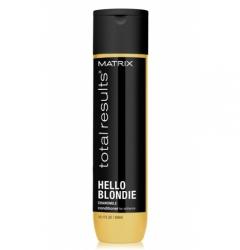 Кондиционер для сияния светлых волос Матрикс Total Results Hello Blondie Conditioner Matrix