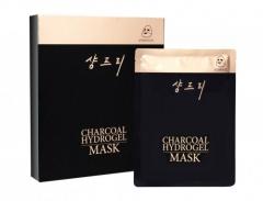 Гидрогелевая маска на основе древесного угля ШангПри Charcoal Hydrogel Mask ShangPree