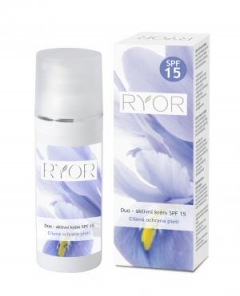 Дуо-активный крем с солнцезащитным фактором SPF 15 Риор Duo-active cream with sunscreen factor SPF 15 Ryor