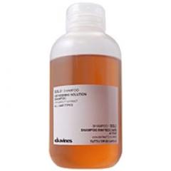 Solu освежающий очищающий шампунь с активными компонентами Давинес Solu shampoo Davines