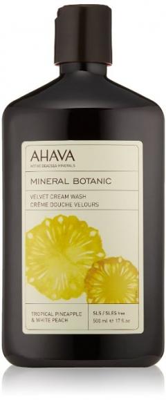 Мягкий крем для душа ананас и персик Ахава Mineral Botanic Cream Wash Pineapple and White Peach Ahava