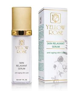 Увлажняющая мультивитаминная сыворотка, разглаживающая морщины Йелоу Роуз Skin Relaxant Serum Yellow Rose