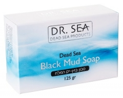 Мыло с чёрной грязью Мертвого моря Доктор Си Soap with black mud from the Dead Sea Dr. Sea