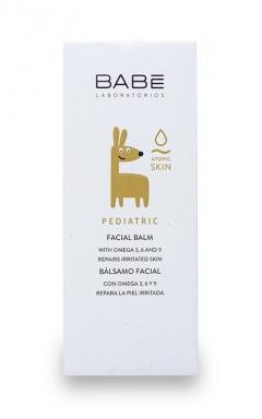 Детский крем-бальзам для лица при сухости, атопии, раздражениях и непогоде Бэйби Лабораториз Facial Balm Babe Laboratorios