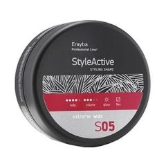 Воск сильной фиксации Эрайба Style Active S05 Extreme Wax Erayba