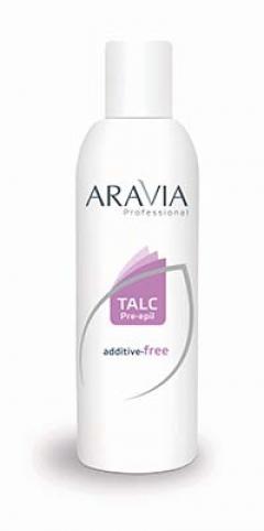 Тальк без отдушек и химических добавок Аравия Профешнл Talc additive-free Aravia Professional