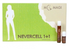 Антицеллюлитные ампулы «NEVERCELL 1+1» М.Маджи NEVERCELL 1+1 ADJUVANT IN THE CELLULITIS TRETMENT M.Magi