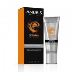Гель-эксфолиант с гиалуроновой кислотой для мужчин Анубис For Men Revitalizing Exfoliating Gel Anubis