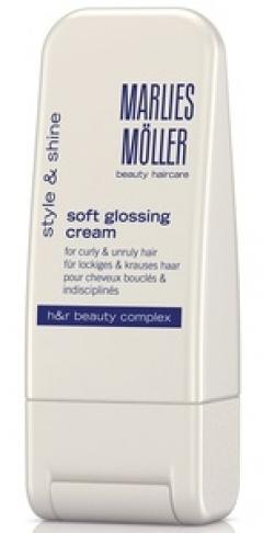 Крем-блеск для выпрямления волос Марлис Мёллер Soft Glossing Cream Marlies Moller