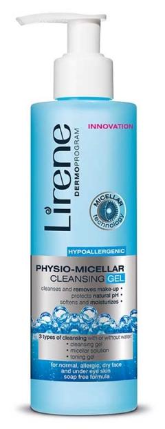 Физио-мицеллярный очищающий гель Лирен Physio-Micellar Cleansing Gel Lirene