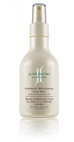 Увлажняющий спрей для ног с перечной мятой Джун Джейкобс Peppermint Moisturizing Foot Mist June Jacobs