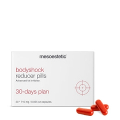 Капсулы для комплексного улучшения состояния кожи тела Мезоэстетик Shock - bodyshock Reducep pills 30 days plan Mesoestetic
