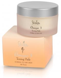 Тонизирующие подушечки Шира Omega 3 Toning Pads Shira