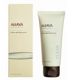 Грязевой пилинг для лица Ахава Facial Mud Exfoliator AHAVA