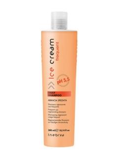 Шампунь для всех типов волос Инебрия Frequent Ice Cream Daily Shampoo Inebrya
