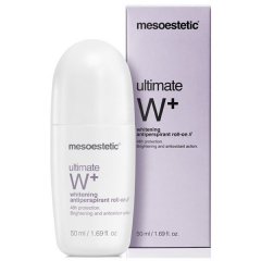 Осветляющий шариковый дезодорант Мезоэстетик Ultimate W+ antipersperant roll-on Mesoestetic